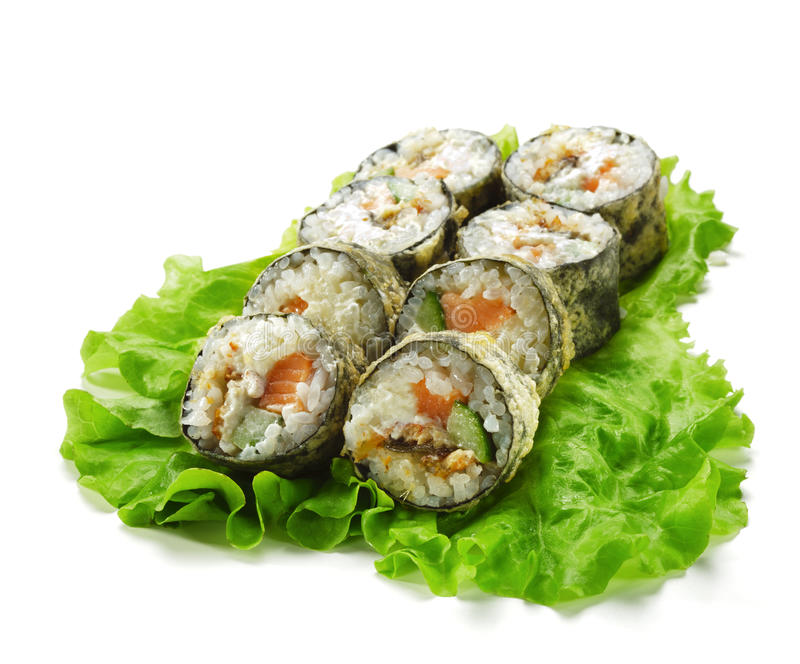 Tempura Roll royalty free stock photo
