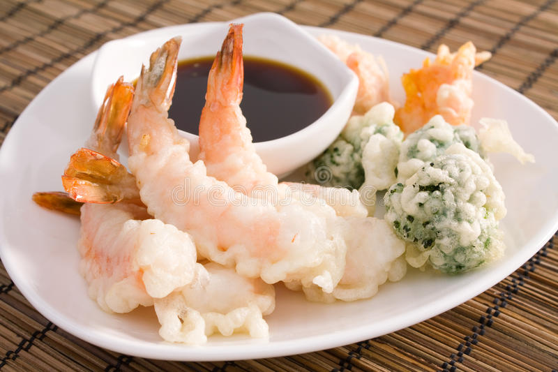 Tempura Shrimp Stock Photos