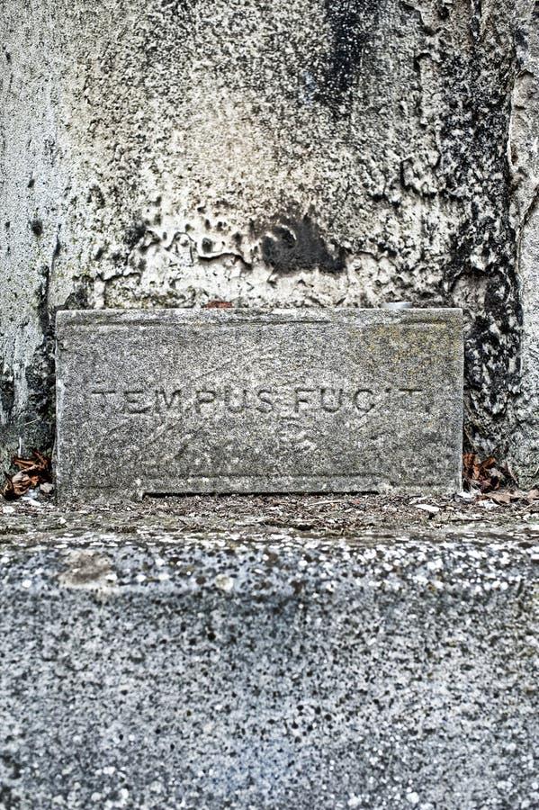 Tempus fugit royalty-vrije stock afbeelding