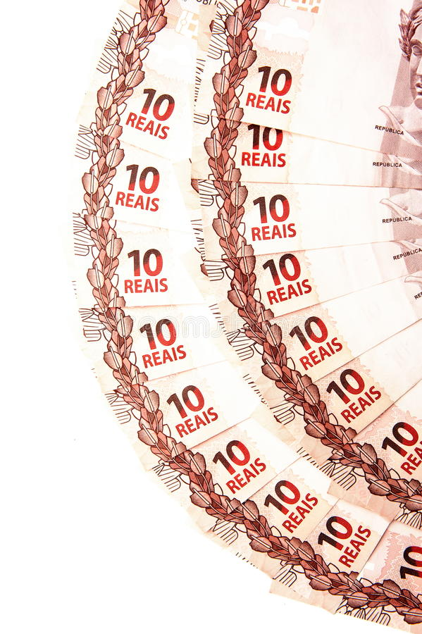 Download Ten Brazilian Real stock photo. Image of brazilian, money - 32205558