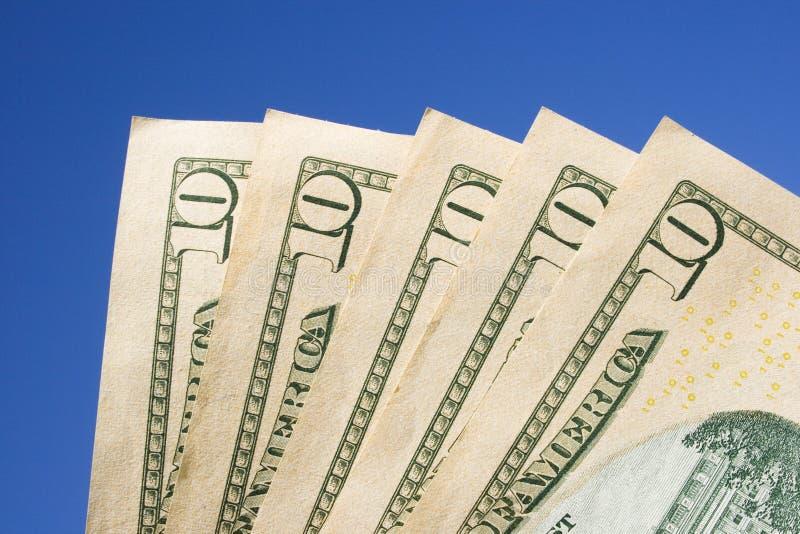 Download Ten Dollar Bills stock photo. Image of finance, manage - 7337830