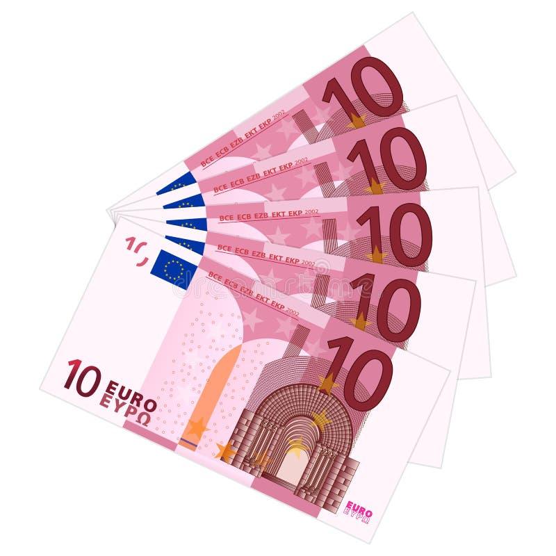 Free Ten Euro Banknotes Royalty Free Stock Photos - 31465288