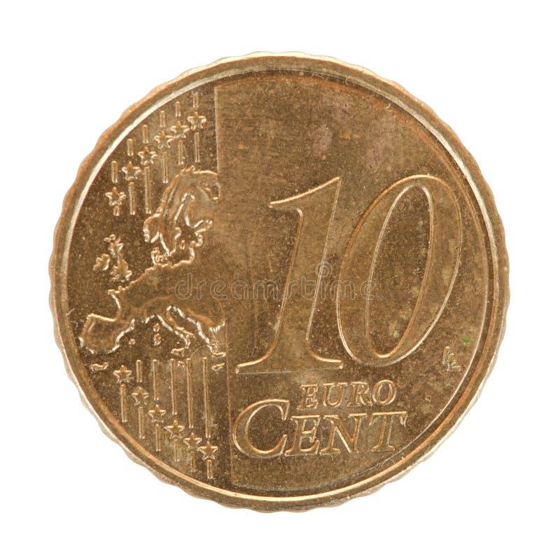 Free Ten Euro Cent Coin Stock Photography - 18062722