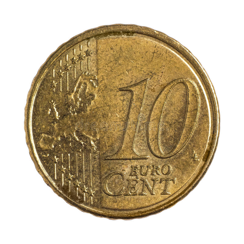 Download Ten euro cents stock photo. Image of circle, business - 36702948