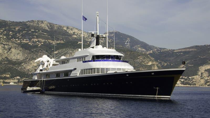 ten jacht fotografia stock