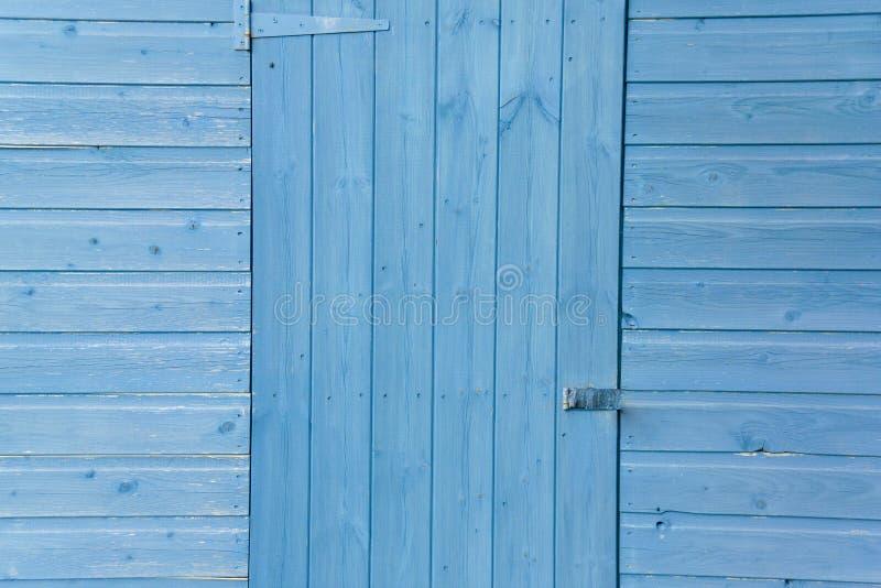 ten niebieski drzwi obraz royalty free