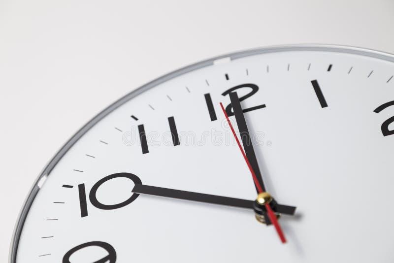 Ten o'clock. (analog clock royalty free stock photography