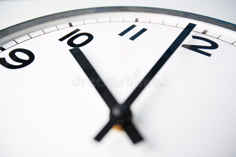 Ten o'clock royalty free stock photos