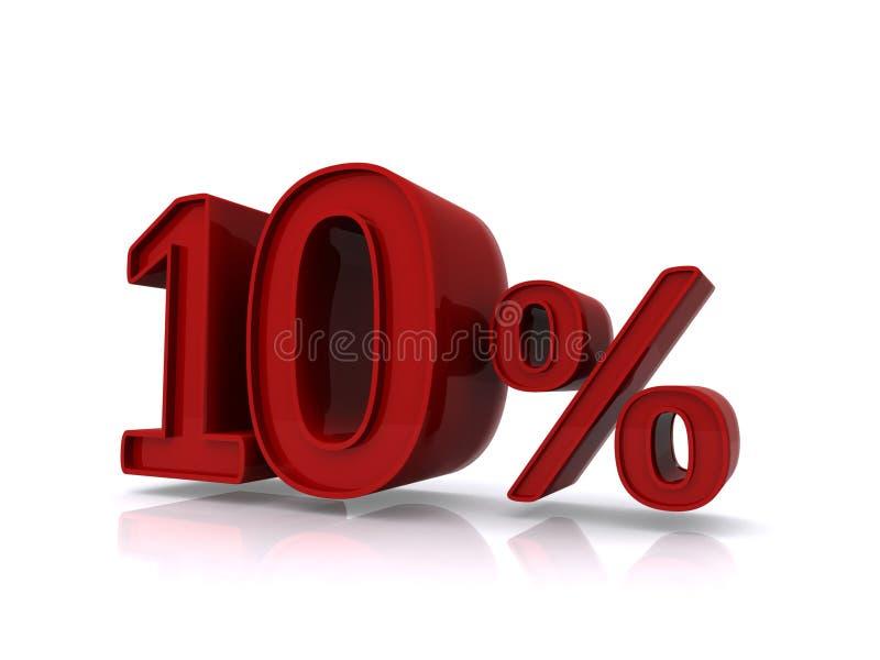 Download Ten percent stock illustration. Illustration of percentage - 29361451