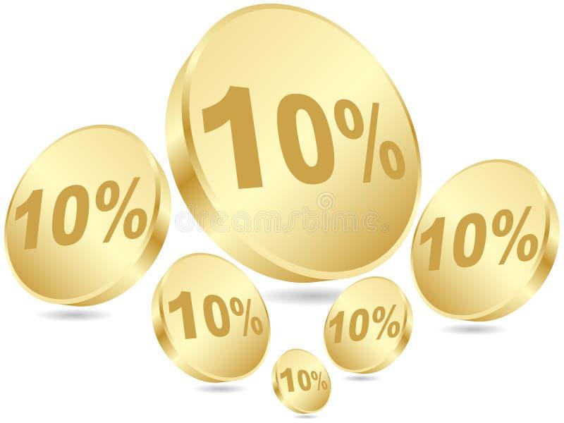 Ten Percent Discount Royalty Free Stock Image