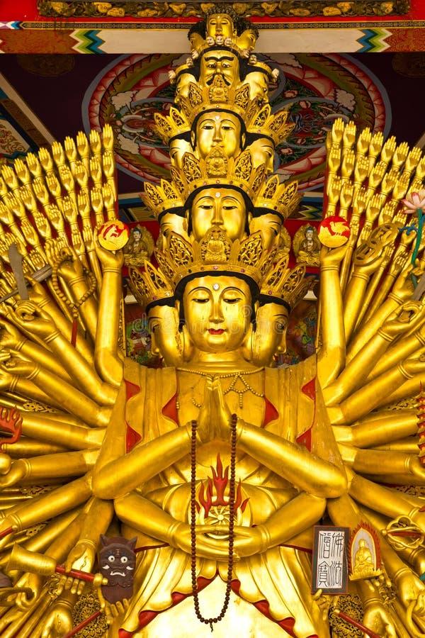 The ten thousand hands buddha statue
