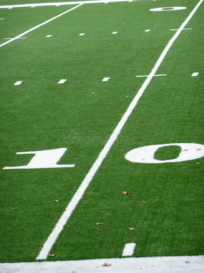 Download Ten Yard Line On Football Field Stock Photo - Image of marking, yardage: 10847204