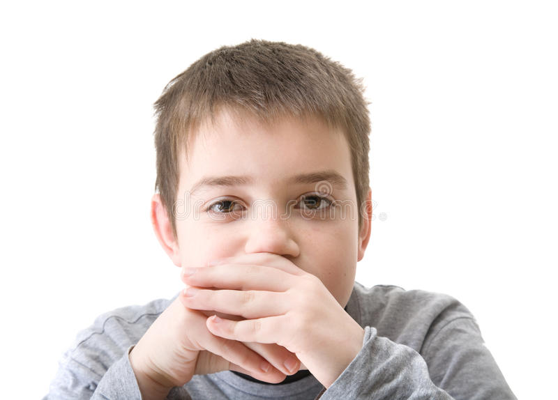 Ten-years-old Boy Stock Images