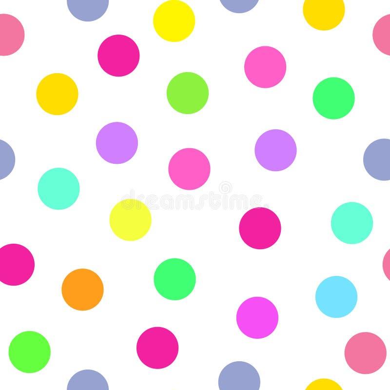 Ten zadziwiający geometryczny wzór od okregów Ja używa błękit, zieleń, kolor żółty, bzów kolory ilustracji