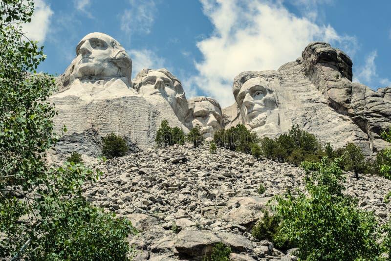 Ten ziemia Jest Nasz ziemią 2 | Góra Rushmore zdjęcie royalty free