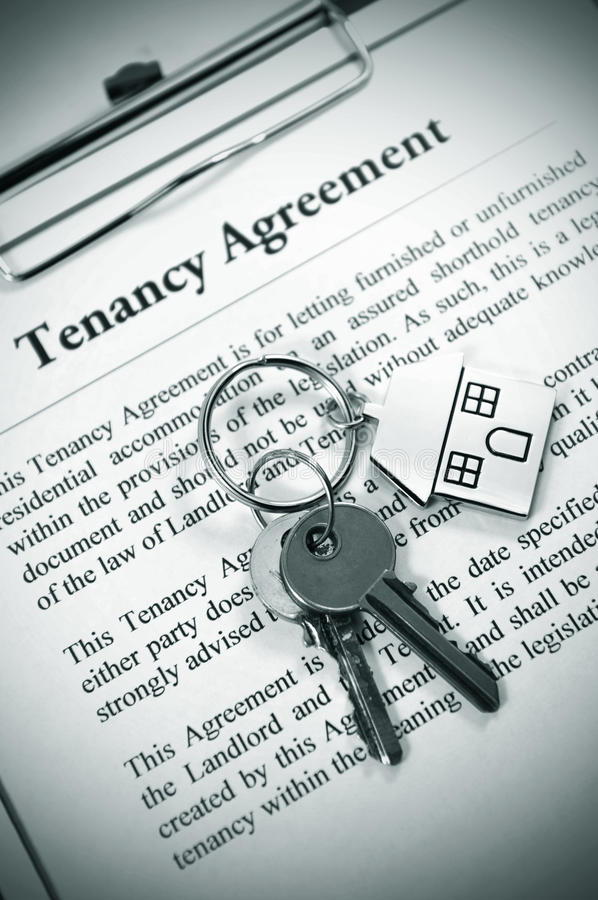Free Tenancy Agreement Royalty Free Stock Photography - 18600297