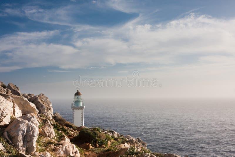 tenaro маяка стоковые изображения rf