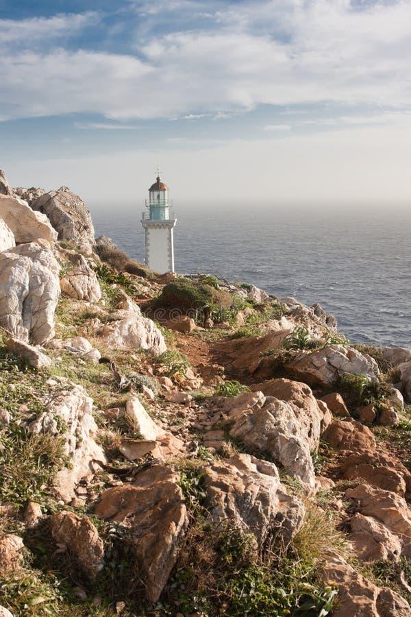 tenaro маяка стоковое фото rf