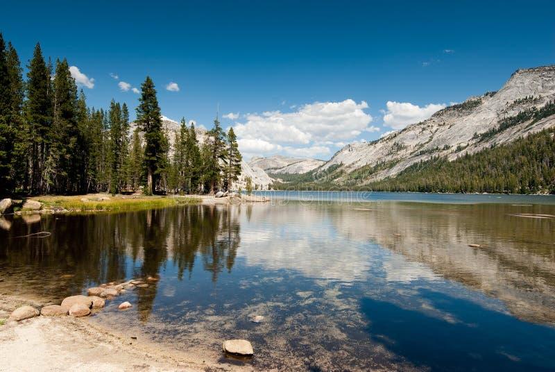 Tenaya See Yosemite stockbilder