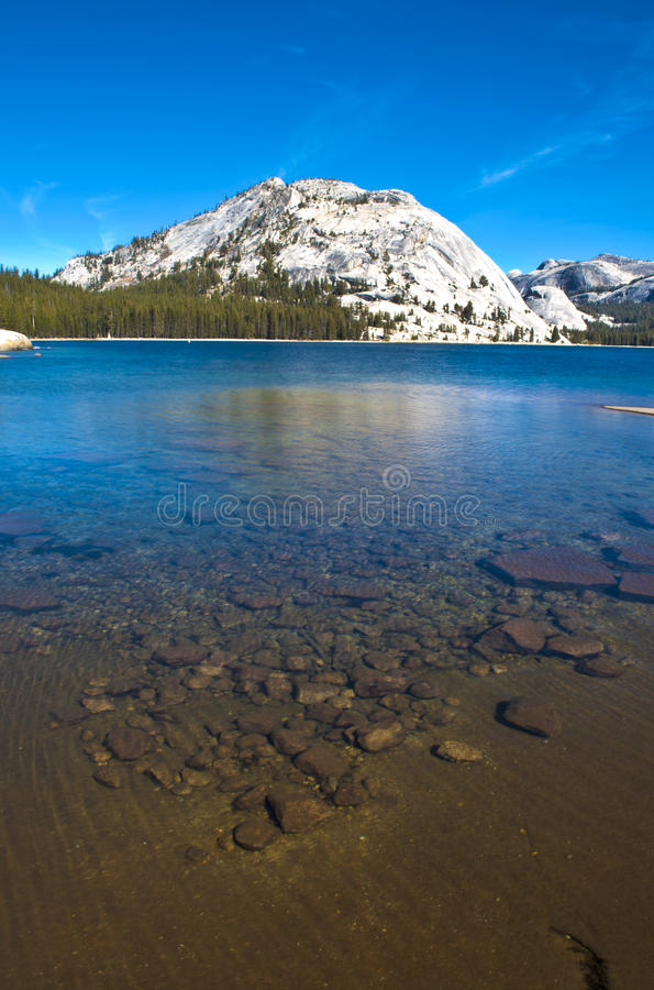 Tenaya See, Yosemite stockbilder