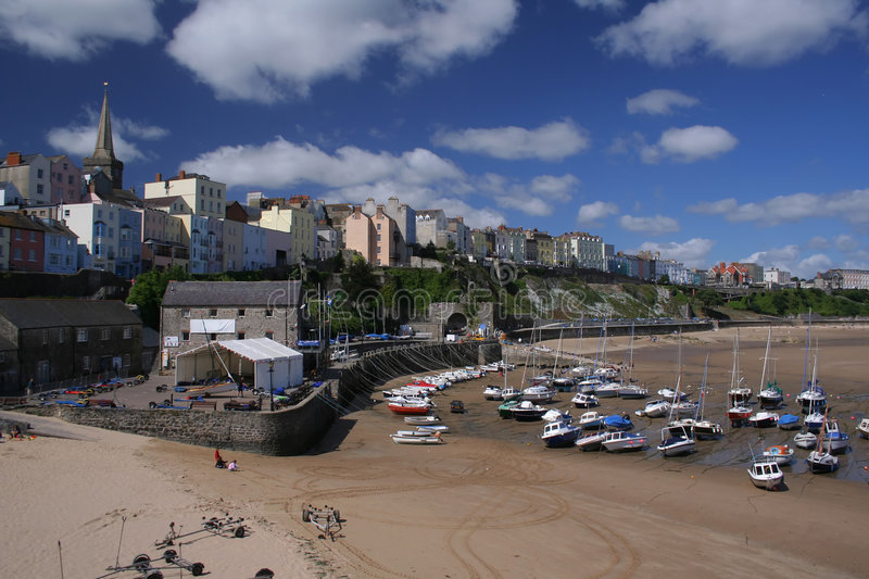 Tenby photographie stock