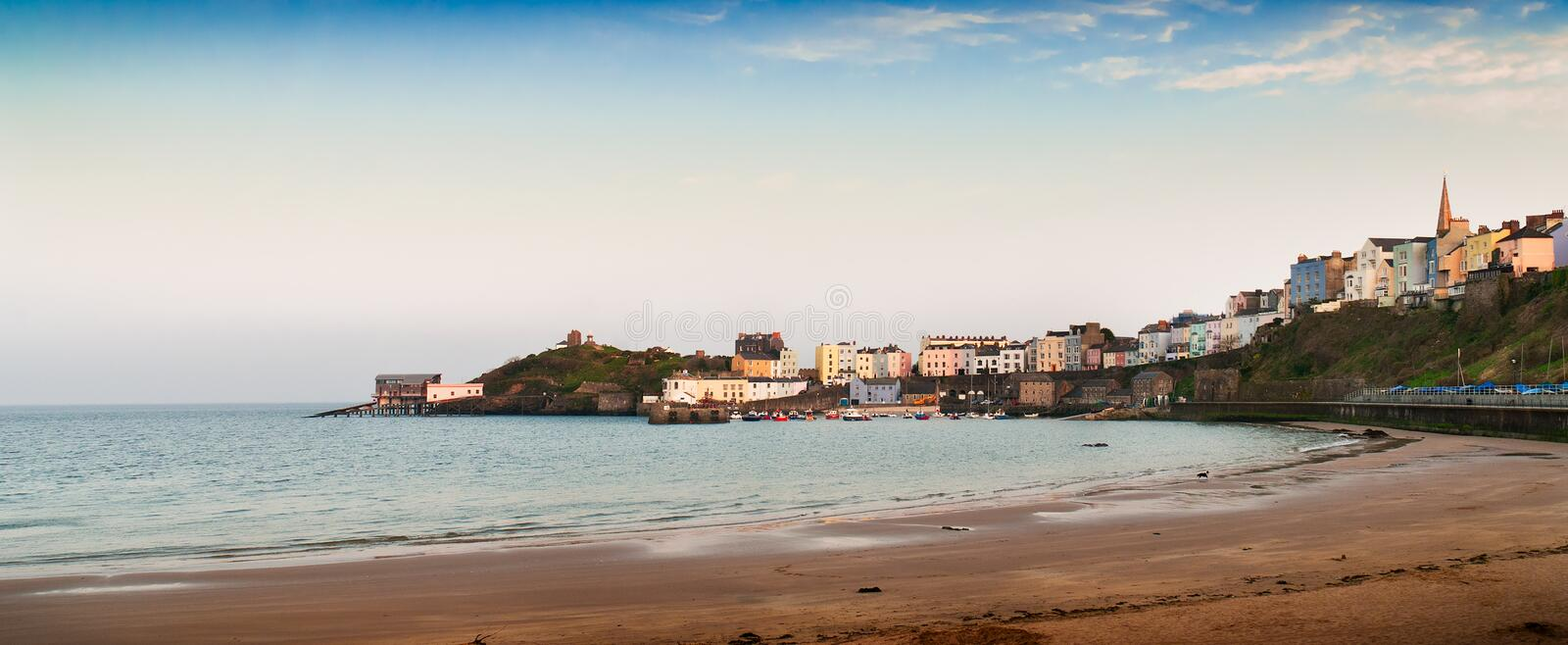 Tenby, Wales royalty free stock image
