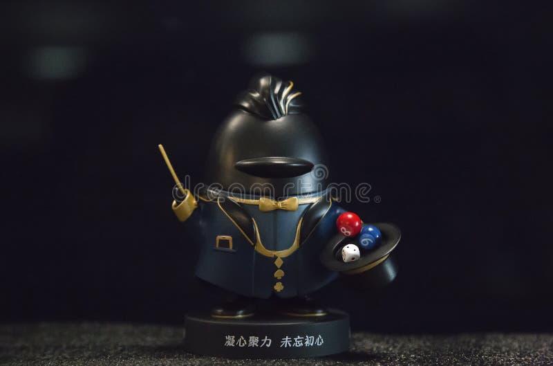 Tencent docka, QQ royaltyfri illustrationer