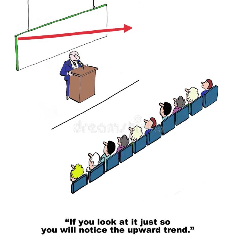 Tendência ascendente ilustração stock