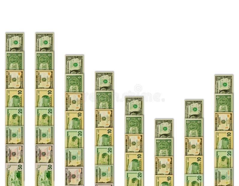 Tendência financeira ilustração do vetor