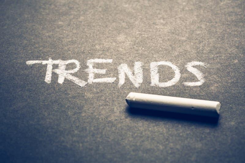 tendências imagens de stock