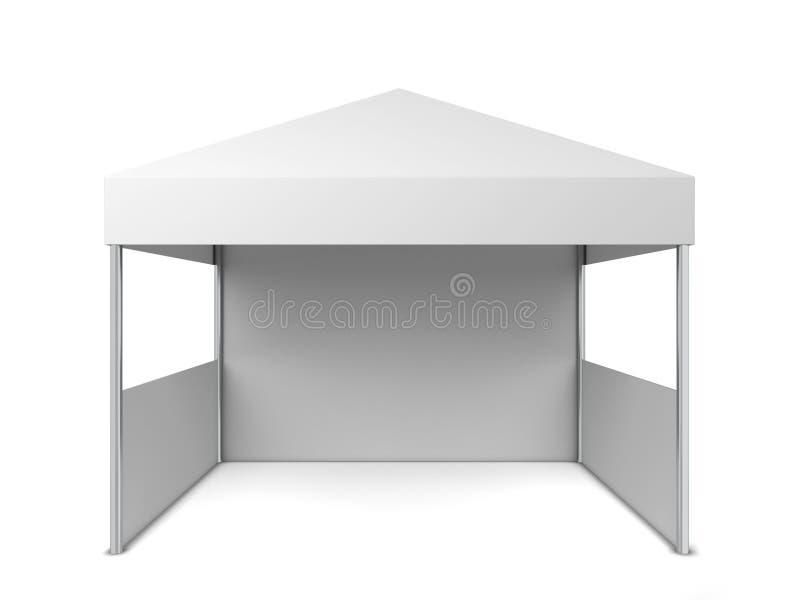 Tenda in bianco royalty illustrazione gratis