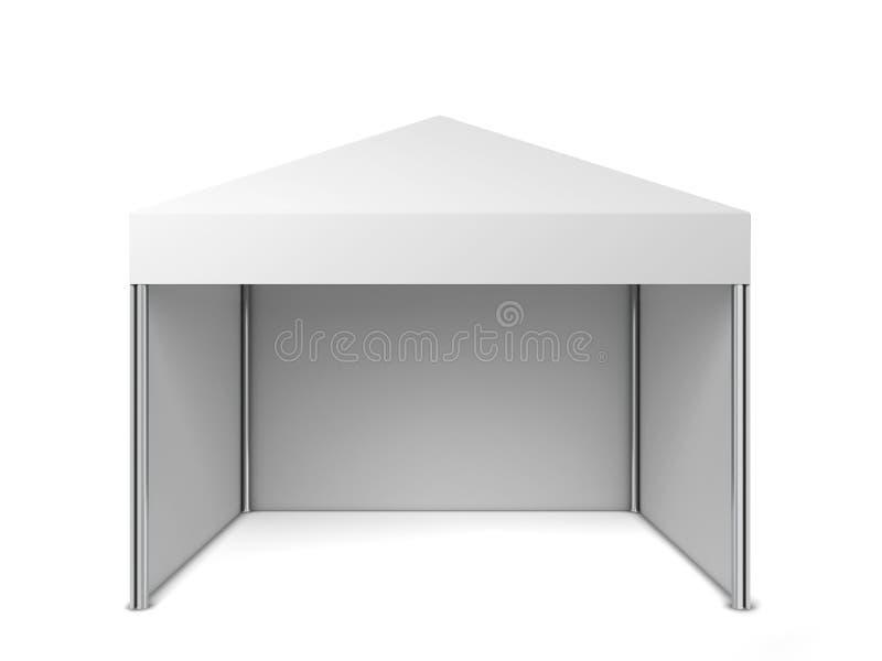 Tenda in bianco illustrazione vettoriale
