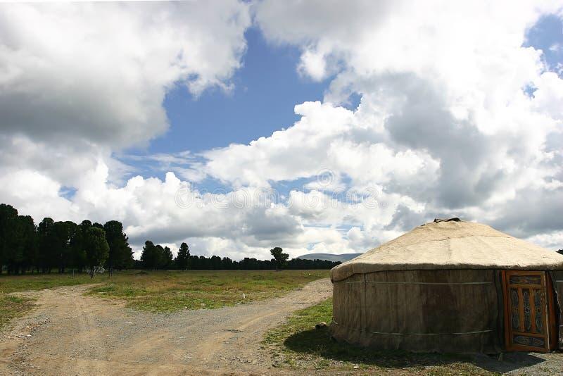 Download Tenda del nomade immagine stock. Immagine di coltura, corsa - 219713