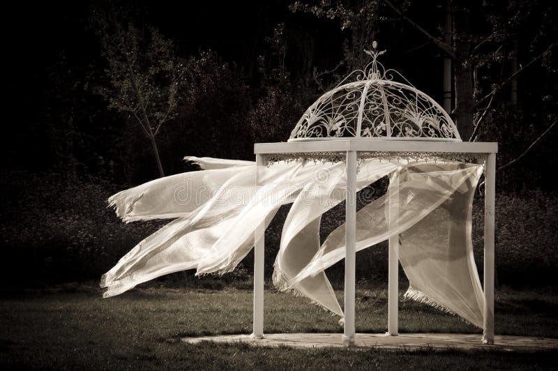 Tenda di cerimonia nuziale immagini stock