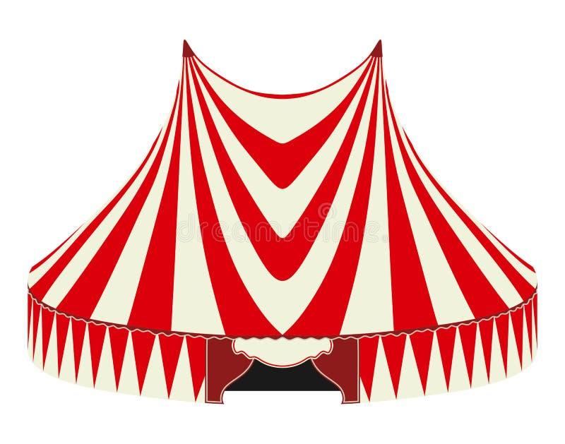 Tenda di circo illustrazione di stock