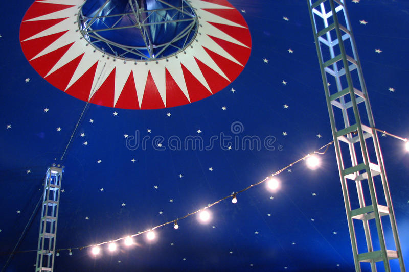 Tenda do circus foto de stock royalty free