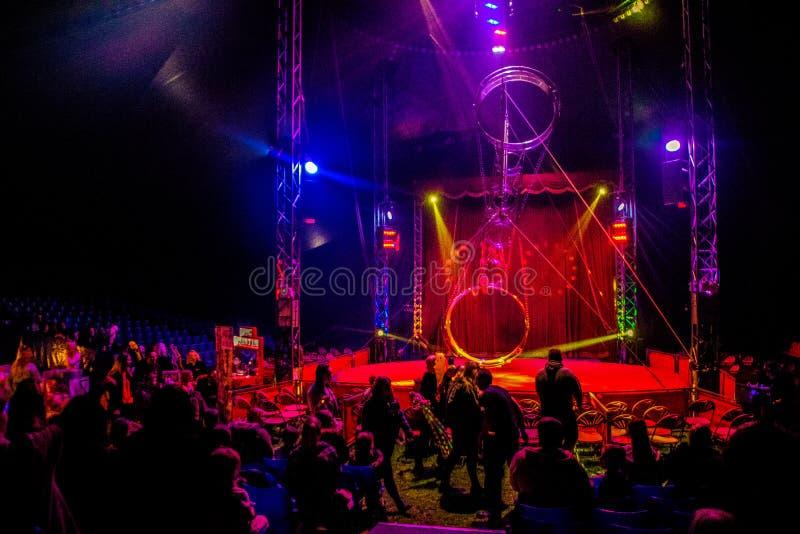 Tenda do circus fotografia de stock royalty free