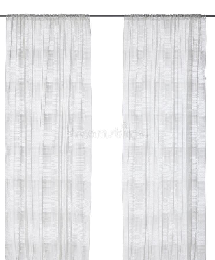 Tenda isolata su bianco immagine stock