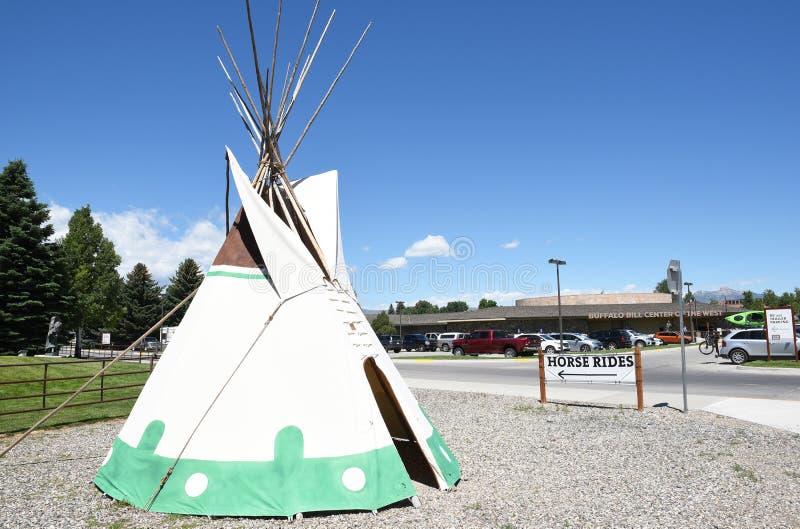 Tendas no búfalo Bill Center do oeste fotos de stock royalty free