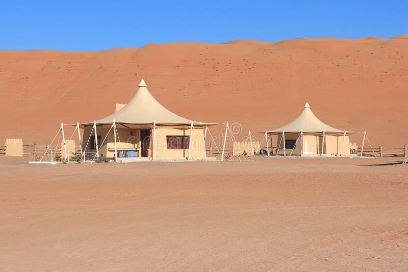 Tende beduine nell'Oman immagini stock libere da diritti