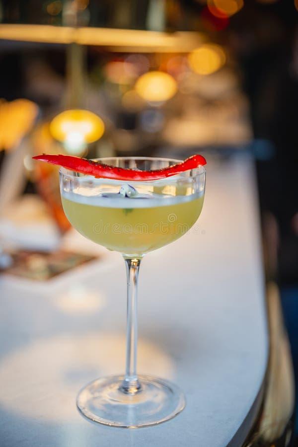Tendenz des Cocktails in Dublin lizenzfreies stockbild