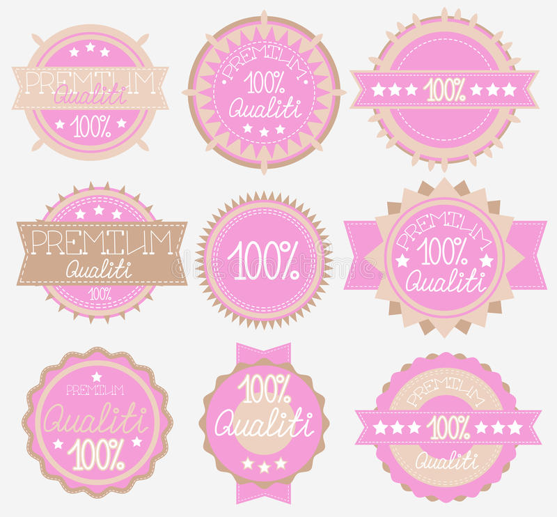 Download Tender High Quality Labels Collection Royalty Free Stock Images - Image: 23589929