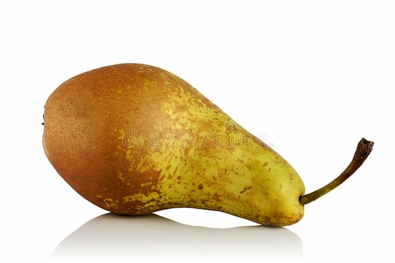 Ripe pear varieties Conference royalty free stock image