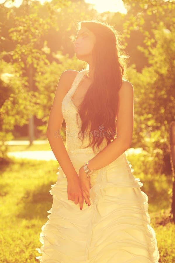 Tender Romantic Bride Stock Photos