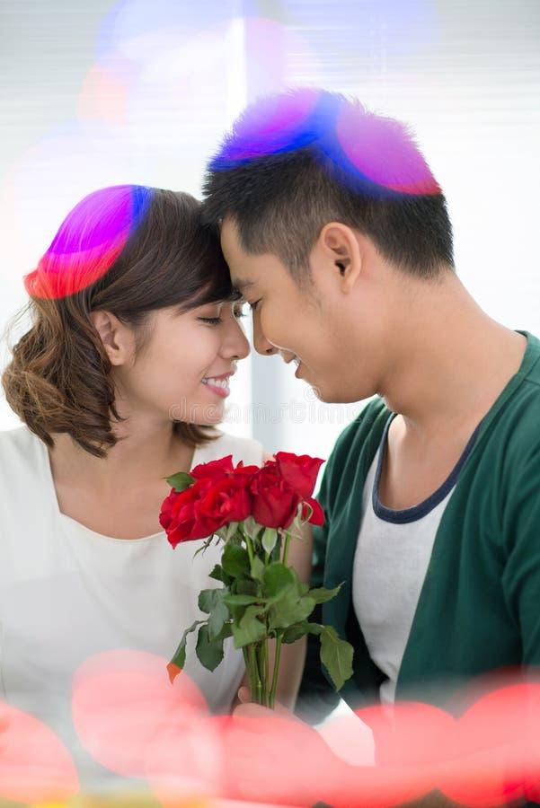 Download Tender valentines stock image. Image of affection, female - 28360969