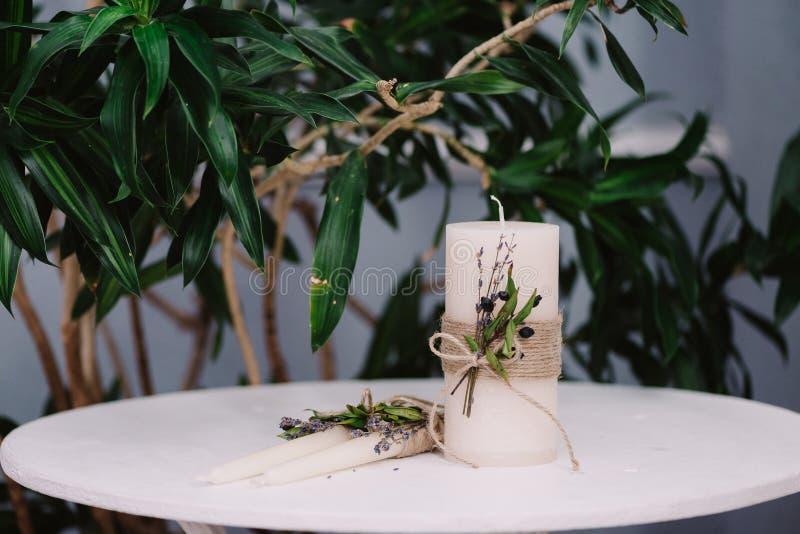 Tenderless в красивом изображении свечей стоковое изображение