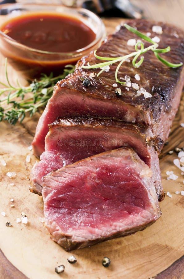 Tenderloin говядины стоковые изображения rf