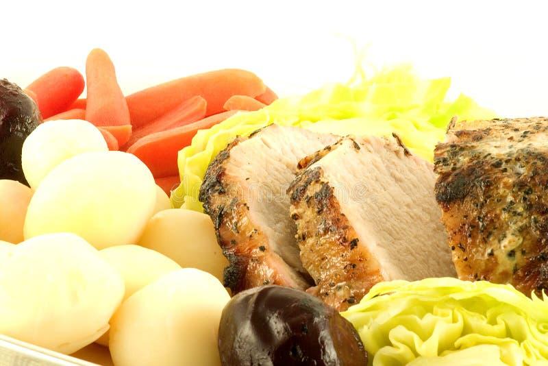 tenderloin жаркого свинины стоковое изображение rf