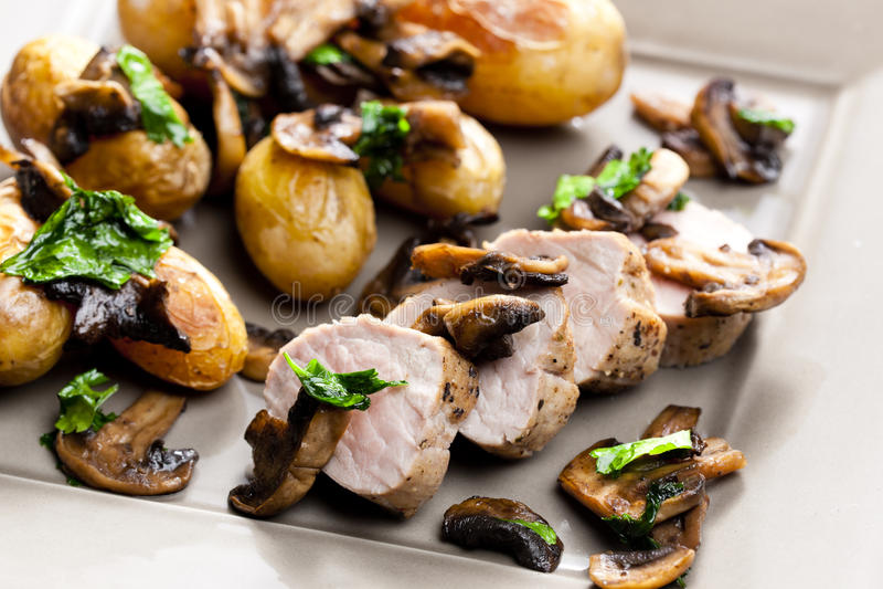 Tenderloin свинины стоковое фото