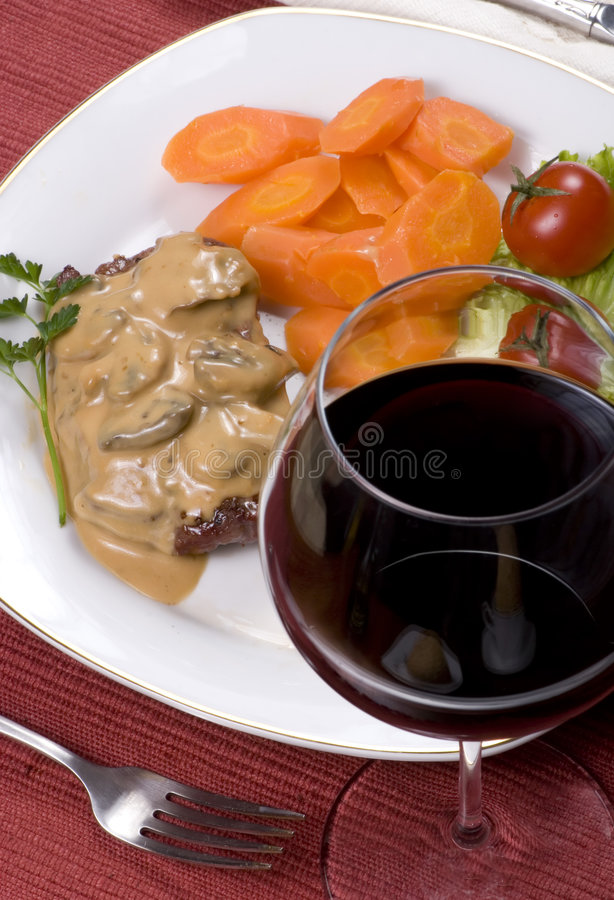 Download Tenderloin Steak 015 stock image. Image of potato, medium - 2156705